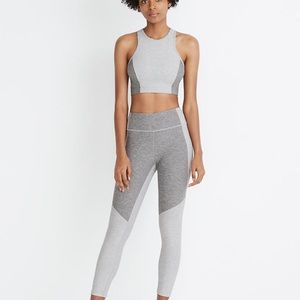Grey Outdoor voices workout set size xsmall